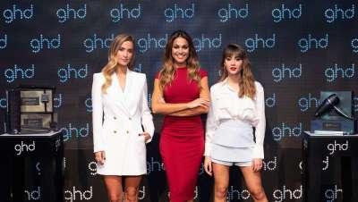 Larga vida a las reinas ghd, Aitana Ocaña, Lara Álvarez y María Pombo
