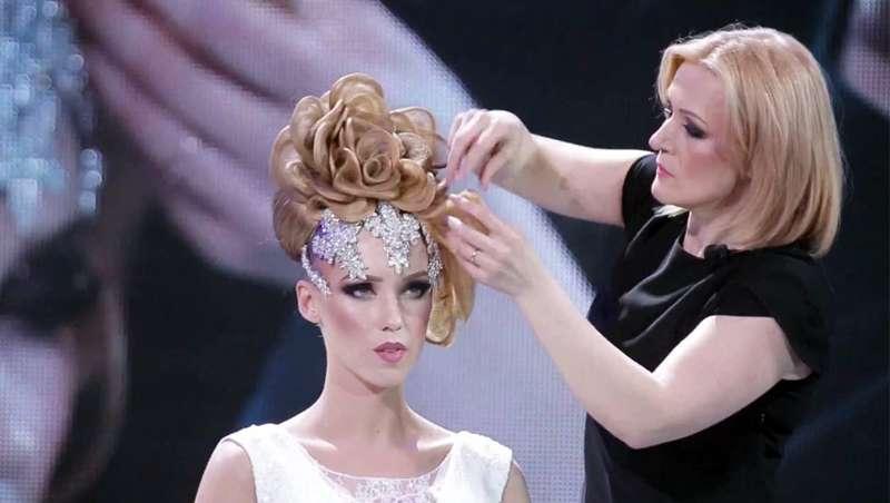 La estilista Victoria Schimbator visita Madrid