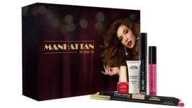 El cofre especial fiestas reúne seis célebres productos de su línea de maquillaje, cosmética y uñas