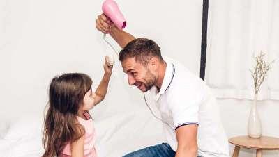 Para el mejor padre del mundo, un pelo de anuncio