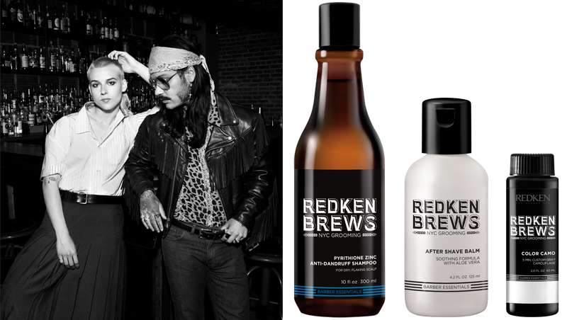 Crece la familia Redken Brews, especializada en grooming masculino