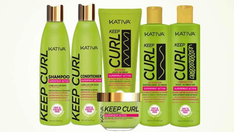 Rizos naturales y definidos con la nueva línea Keep Curl, de Kativa
