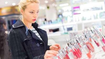 Vendas de perfumaria e cosméticos, a aumentar