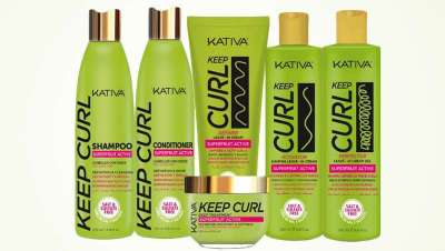 Caracóis naturais e definidos com a nova linha Keep Curl, da Kativa