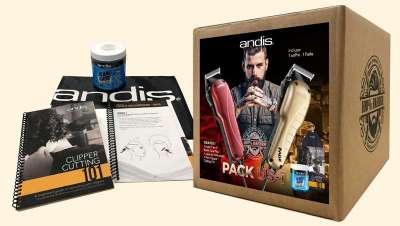 Nuevo pack andis US-1 para rasurados extremos y trabajos de alta precisión