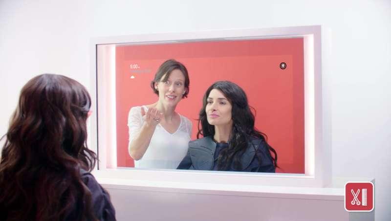 Ya está aquí el espejo inteligente de Wella Professionals para el salón