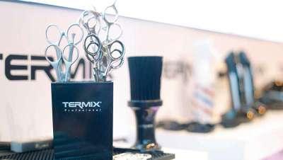 Nuevas tijeras de barbería Termix para trabajos apurados y profesionales