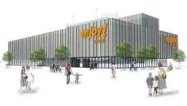 O complexo, localizado em Avilés, ocupará um terreno de 6.500 mm2, distribuídos em quatro andares