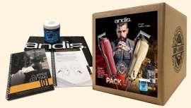 A Andis saúda o novo ano com o lançamento deste pack 100% barbeiro