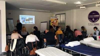 Barcelona Beauty School, Training Weekend aparatología avanzada IR Group, segunda edición