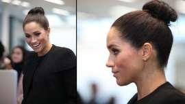Lorena Martínez, do Salão Divinité, revela as chaves para mostrar o penteado mais sofisticado da duquesa de Sussex