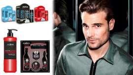 A empresa turca tem uma ampla gama de produtos, incluindo géis e ceras e produtos específicos para barbas e bigodes