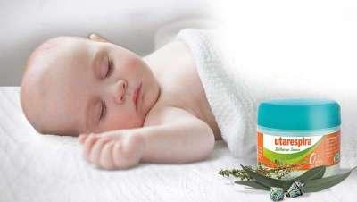 Utarespira, bálsamo que mejora los síntomas de resfriado en bebés, niños y adultos