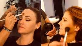 Este maquillaje fluido, de D