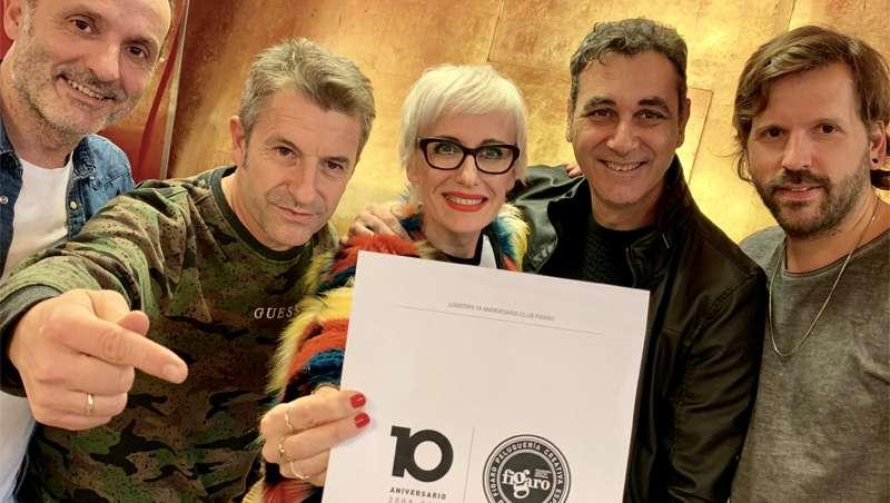 Club Fígaro presenta su nueva imagen del 10º Aniversario