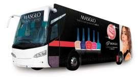 El bus de la belleza va a recorrer centros comerciales, cadenas de supermercados, zonas comerciales, empresariales y zonas residenciales