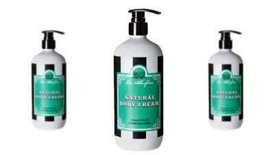 Natural Body Cream, vegana y con propiedades antioxidantes y nutritivas