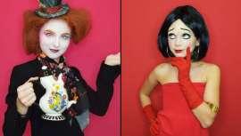 Dirigida por Jordi Justribó, director artístico y maquillador profesional de la firma, las asistentes pudieron ver looks de la sensual y atractiva Betty Boop y del personaje Sombrerero Loco