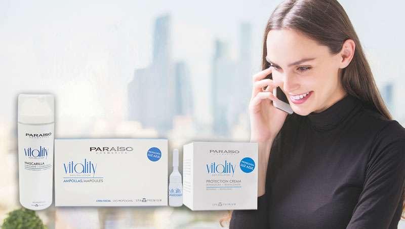 Vitality, la nueva línea facial antipolución de Paraíso Cosmetics