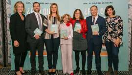 Dr. Carlota Corredera, a famosa série de Sálvame, que em um ano perdeu 65 quilos, apresenta o livro Por que engordamos?, Dolores Saavedra, médico geneticista e nutricionista