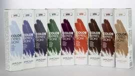 PostQuam Cosmetic presenta esta gama de mascarillas de color, en nueve tonos tendencia, con pigmentos de alto  poder cubriente. Hair Color Mask actúa directamente sobre la cutícula, logrando un cabello matizado y brillante