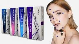 Amplia gama Hydryalix, con y sin lidocaína, para múltiples tratamientos médico-estéticos de corrección de la arruga, labios, nasogeniano y remodelación facial, entre otros