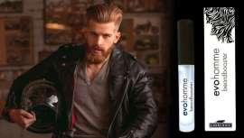 Beardbooster, da EvoHomme, liberta o teu espírito e enche e recupera as sobrancelhas, o bigode e a barba mais masculina, também suaviza e disciplina