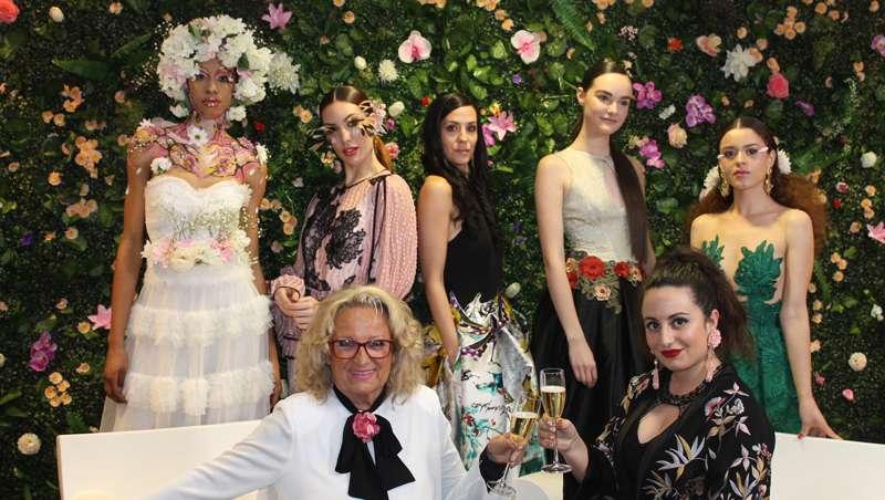 La primavera brota en la ciudad durante el estreno de la última colección de Ten Image