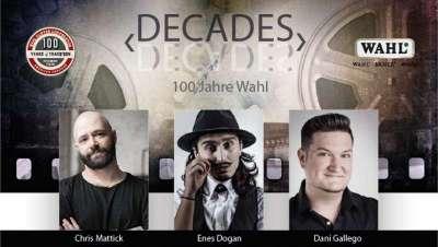 Decades, 100 años de peinados, desde 1919 hasta hoy, un show de Wahl