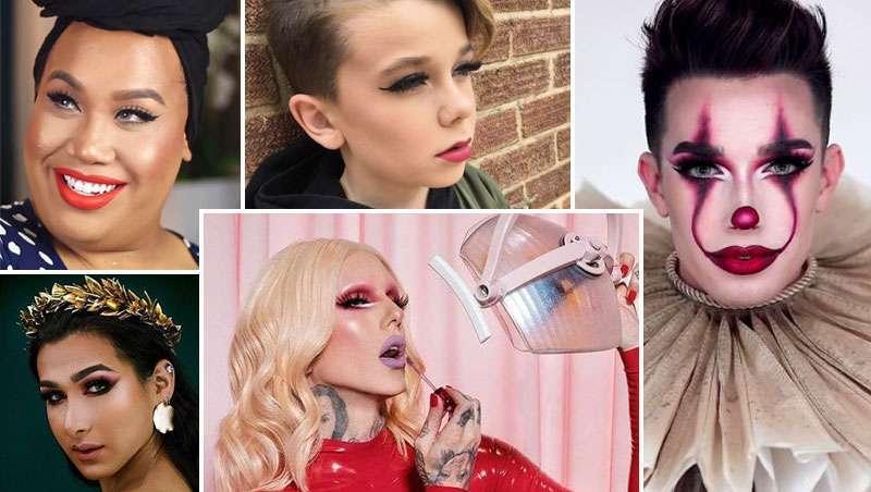 Os mais influentes hoje no mundo da maquilhagem são homens, milhões seguem-los