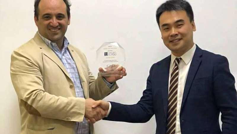 Slyou España recibe el premio al mejor distribuidor mundial de GSD Aesthetic