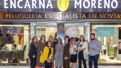Encarna Moreno inaugura nuevo salón en Sevilla