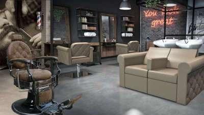 Grupo Belleza triunfa con Vintage, su nueva colección de mobiliario para peluquerías