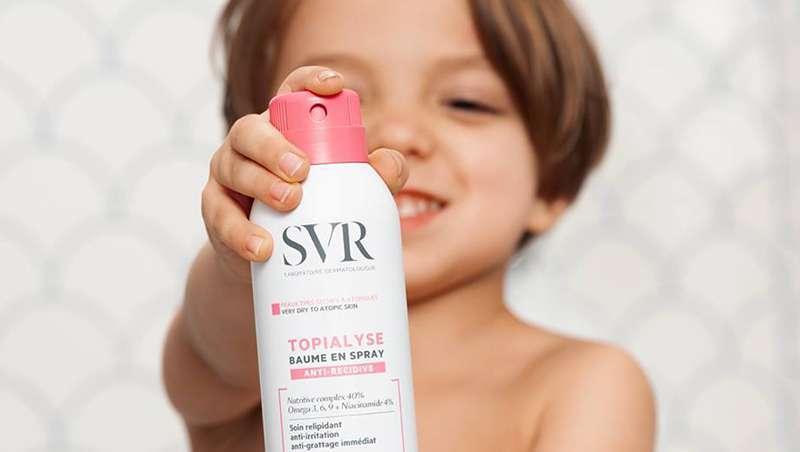 Cuidar las pieles atópicas, un juego de niños con SVR
