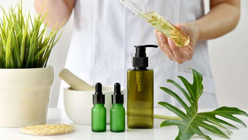 Compradores reais, cosmética ecológica certificada