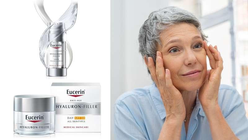 Eucerin Hyaluron-Filler y sus dos imprescindibles de la rutina facial