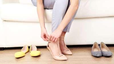 ¿Zapato plano? Mejor, ¡no!