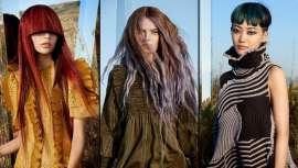 Surgidos e marcados no mistério da natureza, os cabelos das mulheres Wild são telas. Telas inéditas em que esculpem efeitos e tonalidades novas que anunciam a mudança dos tempos