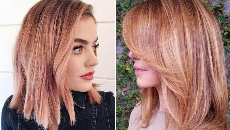 El color fresa conquista el pelo, 'Strawberry hair'