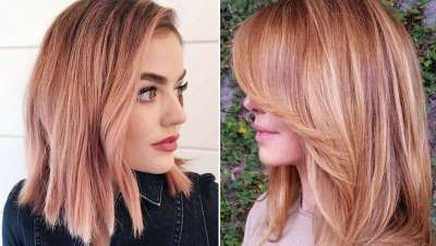 El color fresa conquista el pelo, 'Strawberry hair'