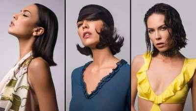 La 'coiffure' de primavera-verano, Brunette, por Christine Margossian