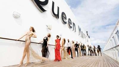 Lujo y glamour, y lo más fashion en 'Transatlantic Fashion Week' a bordo del Queen Mary