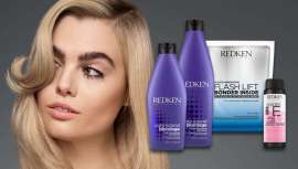 Redken tiene la fórmula con la que conseguir el rubio ideal, conservándolo en el tono frío de moda