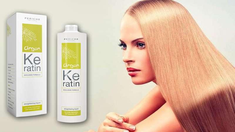 Argan Keratin Straightening Liquid revoluciona o mundo da suavização