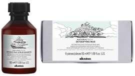 Natural linha de tecnologia inclui dois novos produtos: Detoxifying Shampoo e Detoxifying Mud. Duas soluções de ponta para cabelos e couro cabeludo para respirar livremente