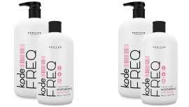 Kode Condicionador FREQ contém ingredientes naturais que hidratam e nutrem o cabelo