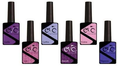 O roxo, protagonista da nova coleção de manicure EVO2