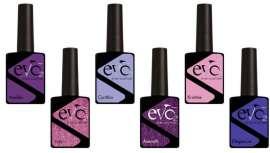 Purples agrupa seis cores que imitam as tendências que serão usadas nesta temporada. Cores brilhantes, sendo o sucesso deste 2018