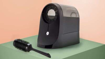 Presto, o sistema elétrico que limpa a tua escova por ti
