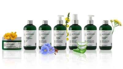 Actyvabio, primeira linha de tratamento profissional biológico certificada pela Cosmos Organic